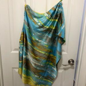 Calvin Klein One Shoulder Dress